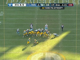 Crosby, 48-yd FG