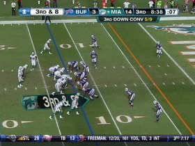 QB Tannehill to RB Bush, 12-yd, pass, TD