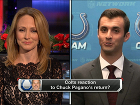 Video - Reaction to Chuck Pagano's return