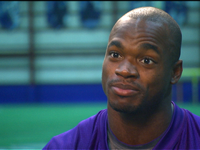 Video - Minnesota Vikings RB Adrian Peterson's road to recovery