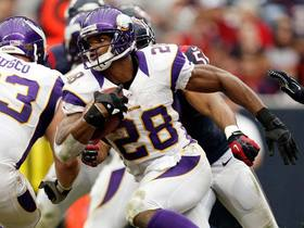 Video - Minnesota Vikings running back Adrian Peterson on record: 'I plan on breaking it'
