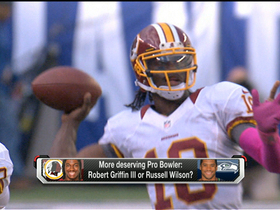 Video - More deserving Pro Bowl pick: Redskins QB Robert Griffin III or Seahawks QB Russell Wilson?