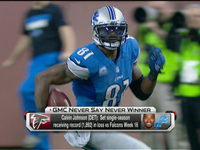 Video - Week 16: GMC Never Say Never Moment of the Week winner