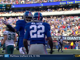 Video - New York Giants QB Eli Manning 15-yard touchdown pass