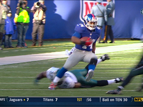 Video - New York Giants RB Ahmad Bradshaw 41-yard gain