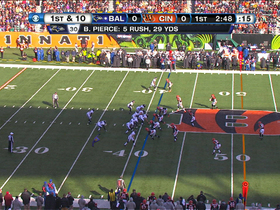 Video - Baltimore Ravens backup QB Tyrod Taylor 28-yard rush
