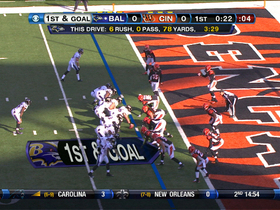 Video - Baltimore Ravens RB Anthony Allen 2-yard touchdown run