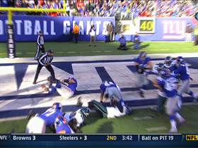 Video - New York Giants running back Ahmad Bradshaw 1-yard touchdown