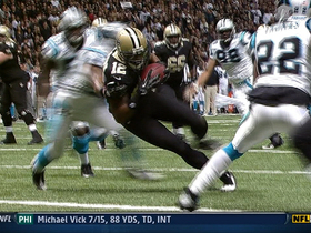 Video - New Orleans Saints QB Drew Brees 7-yard TD pass
