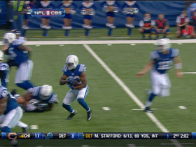 Video - Indianapolis Colts RB Vick Ballard 1-yard TD run