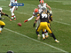 Watch: Gordon and Keisel injured following Browns fumble