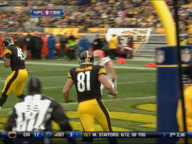 Video - Pittsburgh Steelers quarterback Ben Roethlisberger TD pass