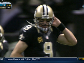 Video - Drew Brees sets passing milestone