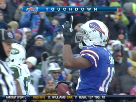 Video - Buffalo Bills WR Brad Smith wildcats his way for six