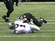 Watch: Cam Newton returns from leg injury