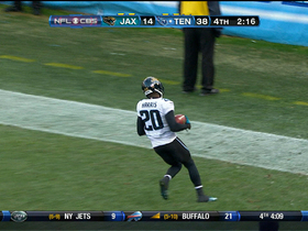 Video - Jacksonville Jaguars blocked punt for touchdown