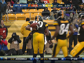 Video - Pittsburgh Steelers QB Ben Roethlisberger's 3rd TD pass