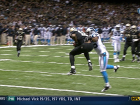 Video - New Orleans Saints WR Marques Colston catches second TD