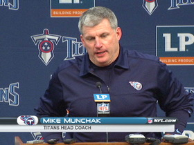 Video - Titans postgame press conference