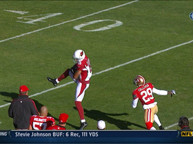 Video - Arizona Cardinals quarterback Brian Hoyer to Michael Floyd 34-yard gain