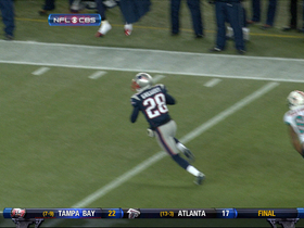 Video - New England Patriots safety Steve Gregory picks off Ryan Tannehill