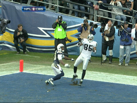 Video - Oakland Raiders wide receiver Darrius Heyward-Bey 9-yard TD catch