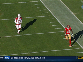 Video - San Francisco 49ers wide receiver Michael Crabtree scores 49-yard TD