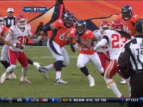 Video - Denver Broncos running back Lance Ball 22-yard burst