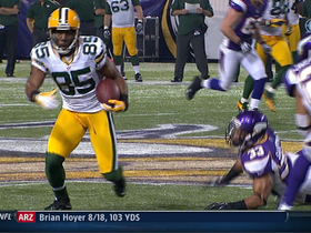 Video - Green Bay Packers wide receiver Greg Jennings 45-yard catch-and-run
