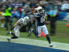 Video - San Diego Chargers wide receiver Danario Alexander 34-yard TD catch