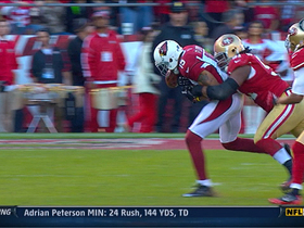 Video - San Francisco 49ers recover Michael Floyd fumble