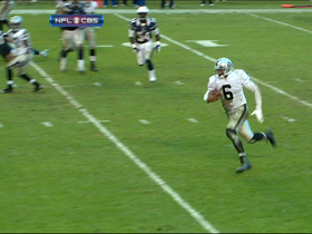 Video - Oakland Raiders quarterback Terrelle Pryor 3-yard TD run