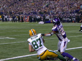 Video - Green Bay Packers wide receiver Jordy Nelson 2-yard touchdown catch