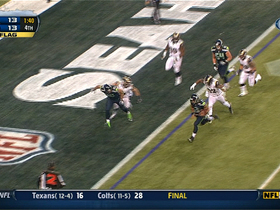 Video - Seattle Seahawks quarterback Russell Wilson 1-yard TD run