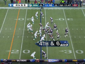 Watch: Dolphins defense, 4th down failed