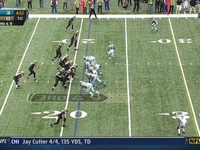 QB Brees to TE Graham, 27-yd, pass