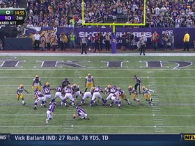 Walsh, 37-yd FG
