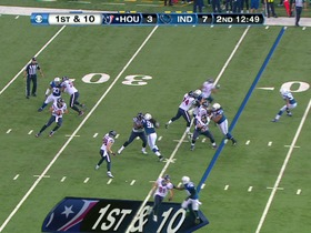 QB Schaub to WR Johnson, 39-yd, pass