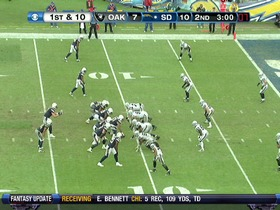 Watch: QB Rivers to TE Gates, 11-yd, pass, TD