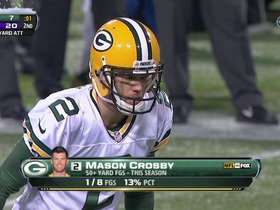 Crosby, 51-yd FG