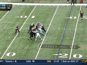 QB Brees to WR Moore, 51-yd, pass