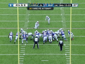 Watch: Bills defense, blocked field goal