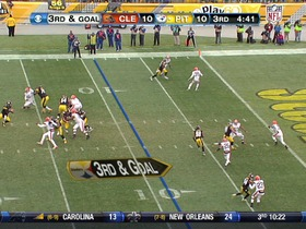 Watch: QB Roethlisberger to WR Brown, 9-yd, pass, TD