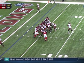 Falcons defense, 2-point conversion failed