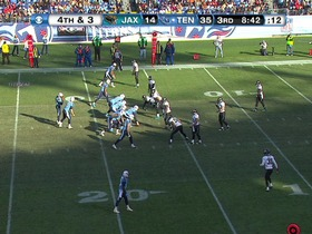 Watch: Jaguars defense, 4th down failed