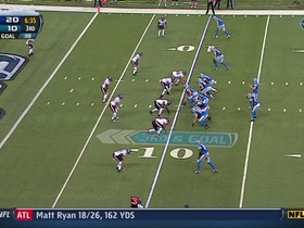 Watch: QB Stafford to TE Heller, 10-yd, pass, TD