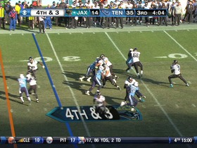 Watch: Titans defense, 4th down failed