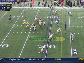 QB Rodgers to WR Nelson, 73-yd, pass