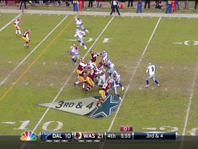 Watch: QB Romo to WR Ogletree, 10-yd, pass, TD