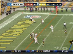 Watch: QB Roethlisberger to WR Burress, 12-yd, pass, TD